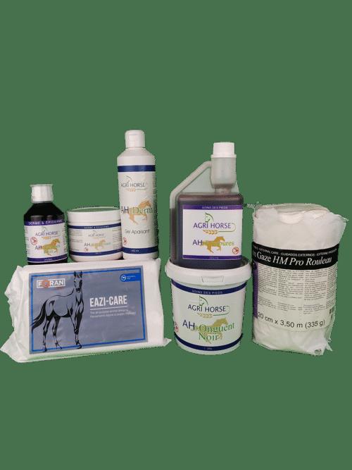 Produits de soins externes