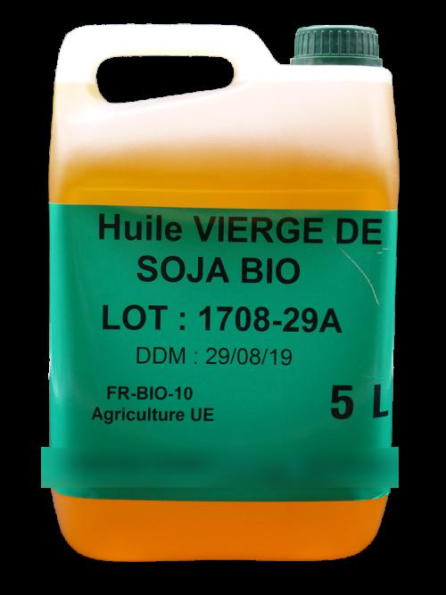 HUILE VIERGE DE SOJA BIO